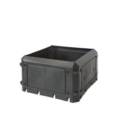 KHW 56100 Aufbauset zu Komposter Bio Quick ohne Deckel, 230 L, anthrazit