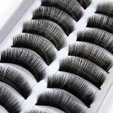 BOOCEO - 10 paires noir Long HANDMADE volumineux faux cils cils par Boolavard® TM