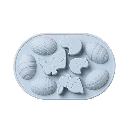 Linxueyi Gummy Mold Candy Molds Chocolate Molds Mold BPA Free Silicone Molds Jelly Mold Different Types of Candy Molds Chocolate Molds, Gelatin Molds, Ice Cube-Blue
