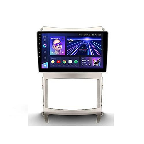 ADMLZQQ Cc3 NavegacióN GPS Radio Multimedia para Hyundai Veracruz Ix55 2006-2015, Android 10 Radio De Coche con SWC/Carplay/Dsp/Bluetooth Manos Libres + CáMara Trasera,8core WiFi+4G:4+64G