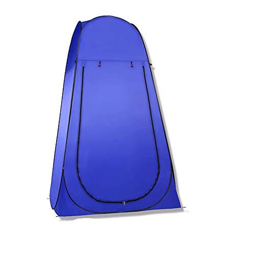 ZLD Outdoor Camping-Ankleidezelt Dusche Dusche einfache Abdeckung WC-Konto hochwertigem wasserdichtem Seidenpolyester und flexiblem Stahl.