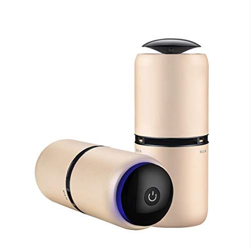 Purificateur d'air de Voiture avec Filtre HEPA Désodorisant d'air de Voiture Ioniseur Purificateur d'air Compact Puissant et Polyvalent - Détection Automatique du Silence
