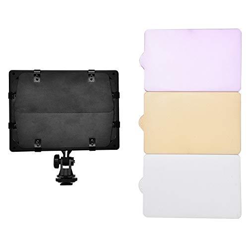 Appareil photo photo, lampe vidéo / caméra vidéo 6000K LED avec panneau d'éclairage vidéo portable pour caméscope DSLR DV