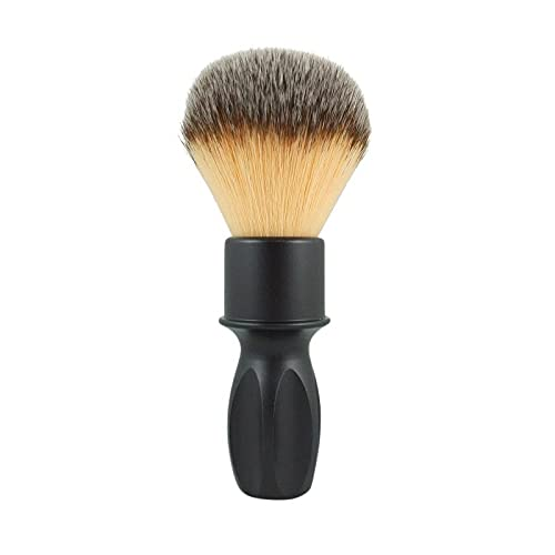 RazoRock 400 Matte Black Plissoft Pennello Da Barba Sintetico 24 mm Knot - 200 ml