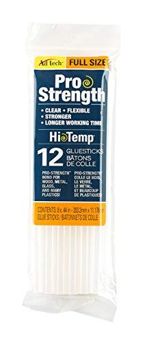 AdTech 12-Pack Full-Size Pro Strength Clear Glue Sticks #236-1812