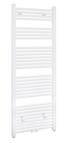 SixBros. R18 Badheizkörper (1500 x 500 mm, 731 Watt) - Heizkörper mit Handtuchhalter für das Bad - pulverbeschichtet – weiß