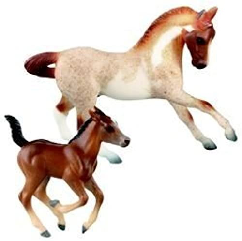 Breyer Stablemates Warmblood Stallion and Foal