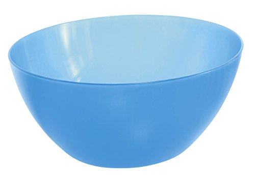 Rotho, Caruba, 1705300096,Ciotola in plastica (PP), capacità 3L, Circa 22,5x 22,5x 11cm, Senza BPA, Trasparente