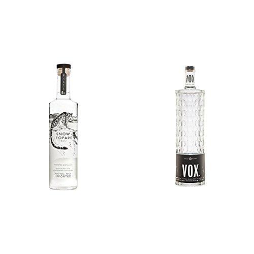 Snow Leopard - Vodka, 700 ml + Vox - Vodka, 700 ml