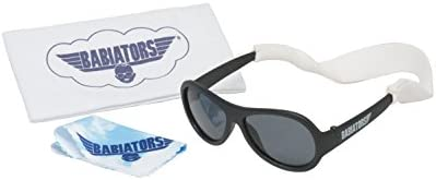 Babiators Gift Set for Baby Toddler Kids Black Ops Original Sunglasses Age 0 3 and Accessories product image