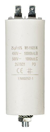 Fixapart - W1-11025N - zylindrischer Kondensator, Weiß