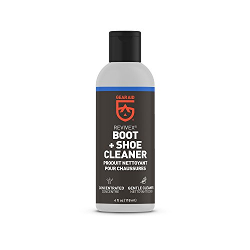 GEAR AID Revivex Boot and Shoe Cleaner for Leather, Suede and Fabric, Concentrated, 4 fl oz (36250)