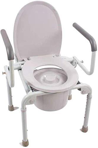 Gehrahmen Rollatoren Ältere Schwangere Frauen sitzen Toilette Bad Stuhl höhenverstellbar Aktivität Armlehne WC-Sitz leichtgewichtrollator faltbar