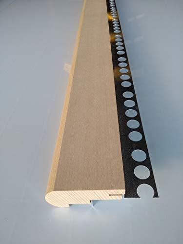 Mamperlán perfil madera Haya para peldaño y escalera C2 (1,00 MT)