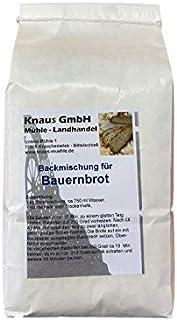 Backmischung Bauernbrot 1 kg / Brot Backen Mischung Mehl