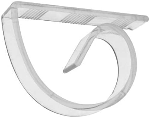 Essentials Tischdecke Party-Clips, Kunststoff, transparent, 100 Stück von Party Essentials