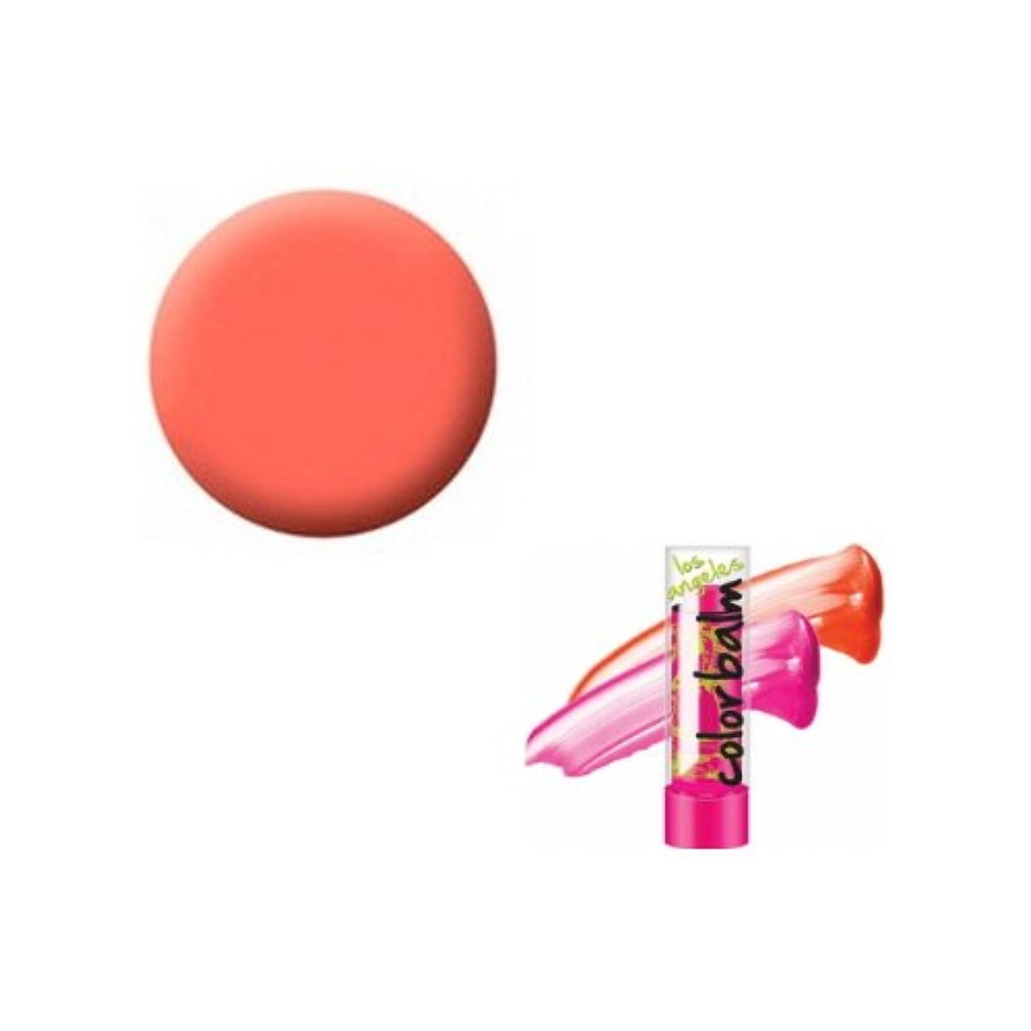 大邸宅ゴミ箱を空にする非行(3 Pack) LA GIRL Color Lip Balm - Tokyo Orange (並行輸入品)