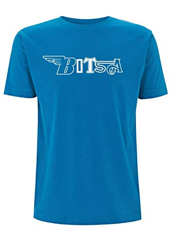Bitsa - Camiseta para bicicleta, diseño de Triumph BSA British AJS Cafe...