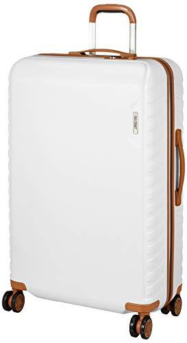 [エー・エル・アイ] ジッパーハードキャリー 革調テイスト MS-202-30.5 90L 4.5kg ホワイト