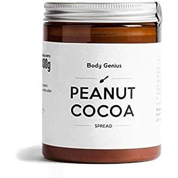 BODY GENIUS Peanut Cocoa. Crema de cacahuete y cacao. 300g. Alta ...