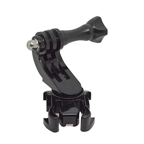 Adaptador de montaje en superficie Vertical con base de hebilla con gancho en J giratorio de 360 grados para GoPro Hero 7/6/5/4/3/3 + / 2/1 sj4000 5000