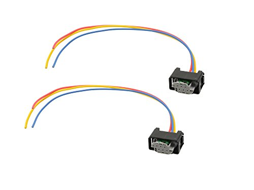 Michigan Motorsports height Sensor Connector Harness pigtail 3 wire for Land Rover replacement YMQ503220