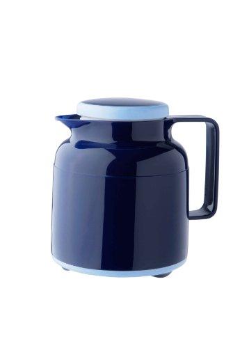 Helios Wash Pro Kunststoff-Isolierkanne mit Drehverschluss 1,0 l dunkelblau spülmaschinenfest