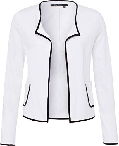 Marc Aurel Damen Strickjacke Größe 44 EU Weiß (weiß)