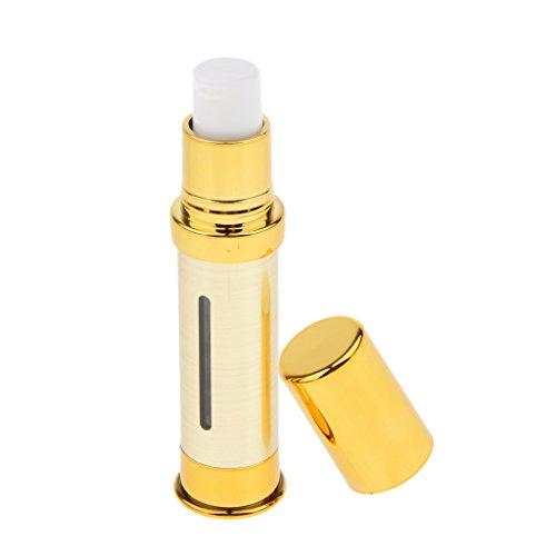 Harilla Botella Sin Aire Portátil Tratamiento Cosmético Bomba de Aceite Esencial Viaje Vacío - 10 ml