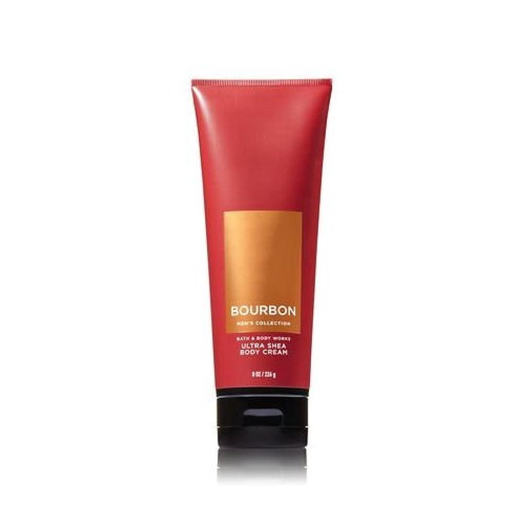 囲む代表白雪姫【並行輸入品】Bath and Body Works Bourbon for Men Ultra Shea Body Cream 226 g
