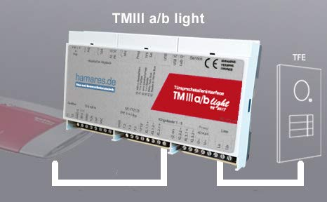 hamares Türmanager TM III a/b Light (Türsprechadapter)