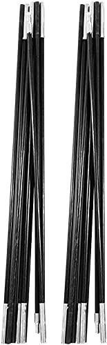 HTDHS Varilla de poste de carpa para exteriores, lona ajustable y polos de tiendas de campaña - 2 PCS 4.9M Camping de fibra de vidrio Camping Barras de polos de soporte al aire libre Barras de soporte