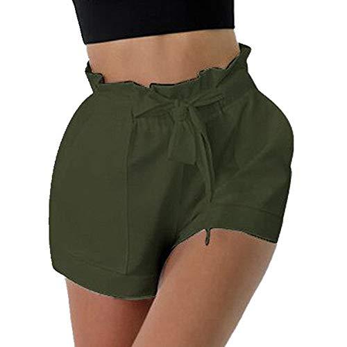 N\P Verano de las mujeres ocasionales sueltos pantalones cortos de las señoras ocasionales cómodos