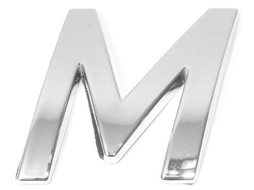 Eufab 30323 3d-letter M Car-logo