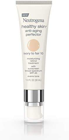 Neutrogena Healthy Skin Anti Aging Perfector Tinted Facial Moisturizer and Retinol Treatment product image
