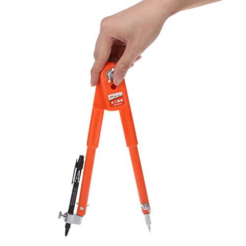 Bleistift-Zirkel, großer Durchmesser, für Zimmermänner, präzise verstellbarer Zirkel S
