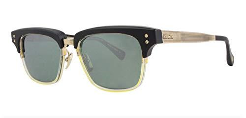 Dita Statesman-Five Sonnenbrille Matt Black - Crystal Clear - Weißgold 53mm DRX-2089-A-T-BLK-GLD-53-Z