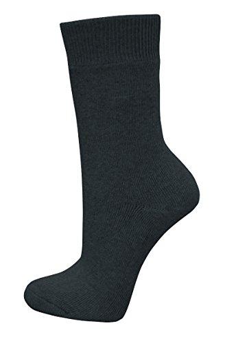 Socken - extrem dehnfähig (3fache Dehnung) 50-53 schwarz