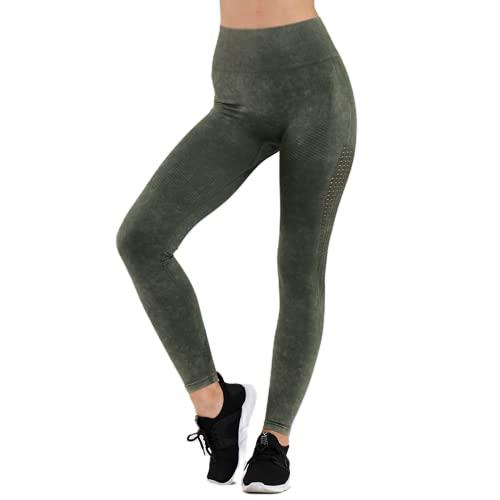 QTJY Pantalones de Yoga Retro para Mujer, Cintura Alta, Push-up, Ejercicio, Gimnasio, Mallas, Correr al Aire Libre, Celulitis, Pantalones Deportivos A S