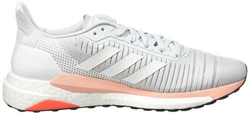 adidas Damen Solar Glide 19 Straßenlaufschuhe, Blutin/Ftwwht/Glopnk - 6
