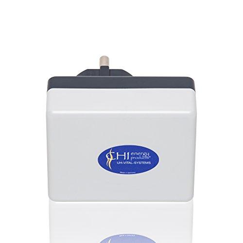 CHI-Netzstecker - Elektrosmog Abschirmung - 5G optimiert - Wlan, Handy & Tablet Schutz für Zuhause - Bis 110 qm Wohnfläche - Strahlenschutz Made in DE