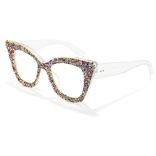 NIUBKLAS Gafas de sol Retro con montura de ojo de gato para mujer, gafas de sol brillantes mate para hombre, gafas UV400 er, monturas ópticas 2