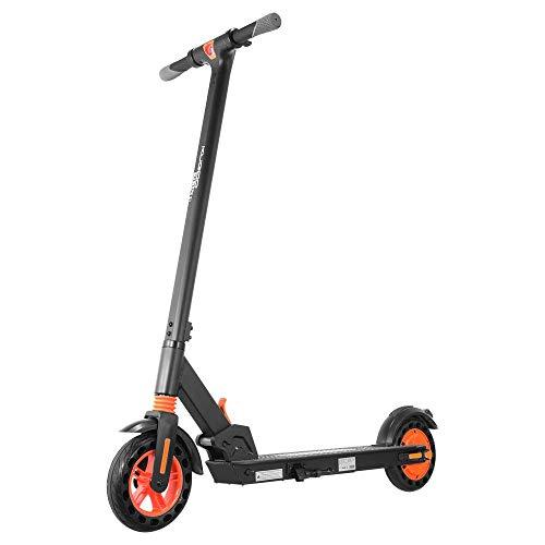 """KUGOO Kirin S1 Eléctrico Patinete Scooter Plegable para Adultos, 8"""" Llantas Neumáticas, Motor De 350W, Modo De 3 Velocidades, Velocidad Máxima 25 Km/H, Adjustabe De Altura Apto(Negro)"""