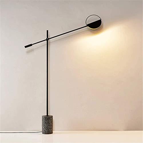N/Z Living Equipment Lámpara de pie Lámpara de pie LED Sala de Estar Hotel Moda Lámpara de pie Lámpara de pie Lámpara de pie Vertical (Color: Dorado Tamaño: 169x15cm)