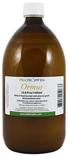 Ormus 33.8 Oz. - 1000 ml   Ormus concentrado   minerales monoatómicos   Heiltropfen®