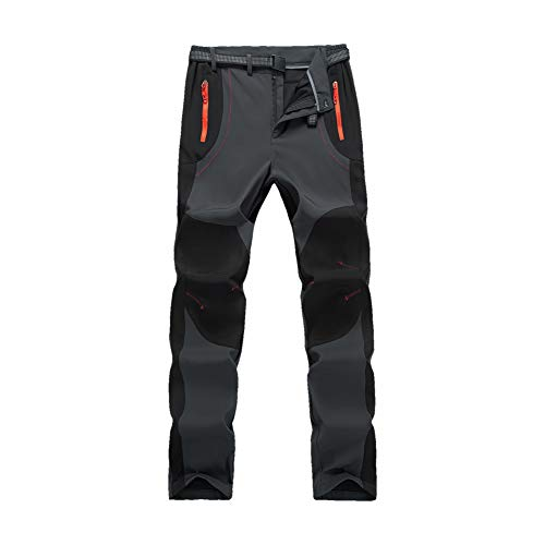 Ynport Crefreak Para hombre al aire libre Kiwi invierno forrado pantalones térmicos invierno esquí senderismo pantalones