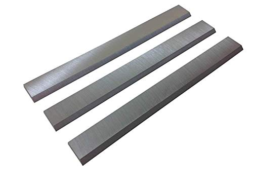 6-1/8-Inch Jointer Knives Blades for Ridgid JP0610, Delta, JET JJ-6, Powermatic, Craftsman, Rockwel, Ridgid jointers - Set of 3