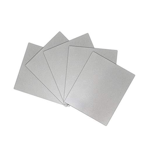 LYL Store Mikrowellenzubehör 5 stücke Glimmerplatten Blätter Dicke Mikrowellenherd Toaster Glimmerplatten Blätter...
