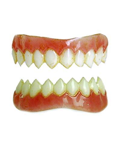 Horror-Shop Dental FX Veneers Diablo-Zähne