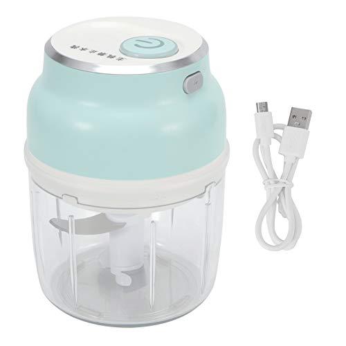 【𝐇𝐚𝐩𝐩𝒚 𝐍𝐞𝒘 𝐘𝐞𝐚𝐫 𝐆𝐢𝐟𝐭】Lebensmittelhacker, MDS2 Elektrischer Lebensmittelhacker USB Gemüse Fleisch Knoblauchschleifer Cutter Küchengeräte 230ml